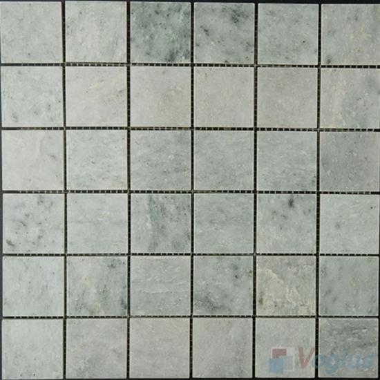 Ming Green 48x48mm 2x2 inch Polished Marble Mosaic VS-MMG96