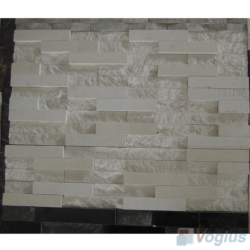 Natural Split Face Culture Stacked Stone Marble Mosaic Tile VS-STT86