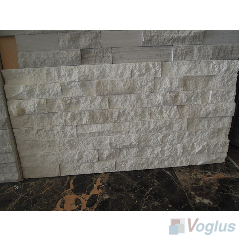 Natural Split Face Culture Stacked Stone Marble Mosaic Tile VS-STT88
