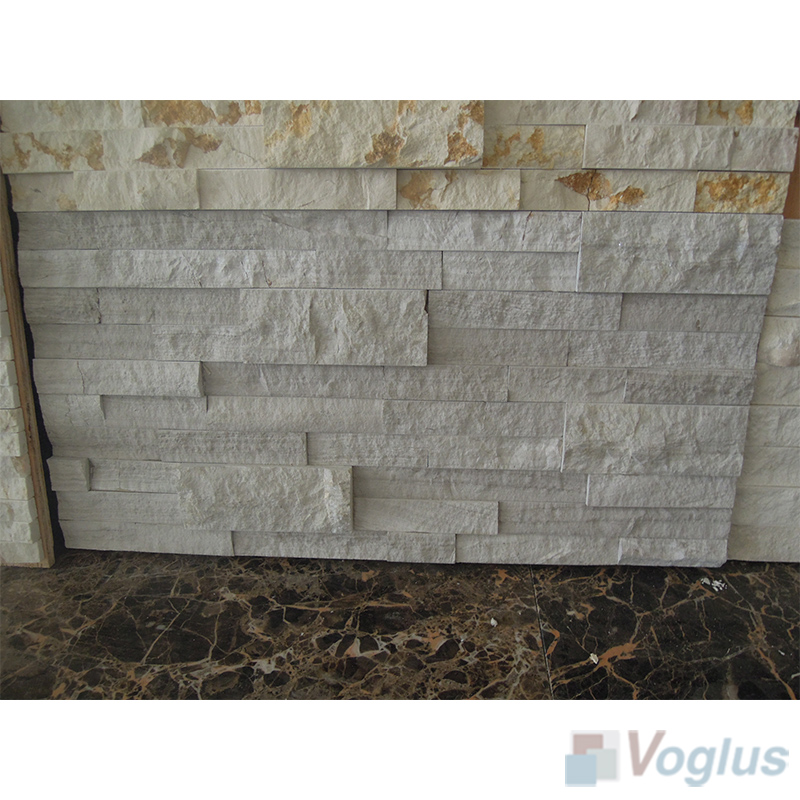 Natural Split Face Culture Stacked Stone Marble Mosaic Tile VS-STT89