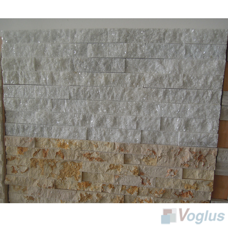 Natural Split Face Culture Stacked Stone Marble Mosaic VS-STT91