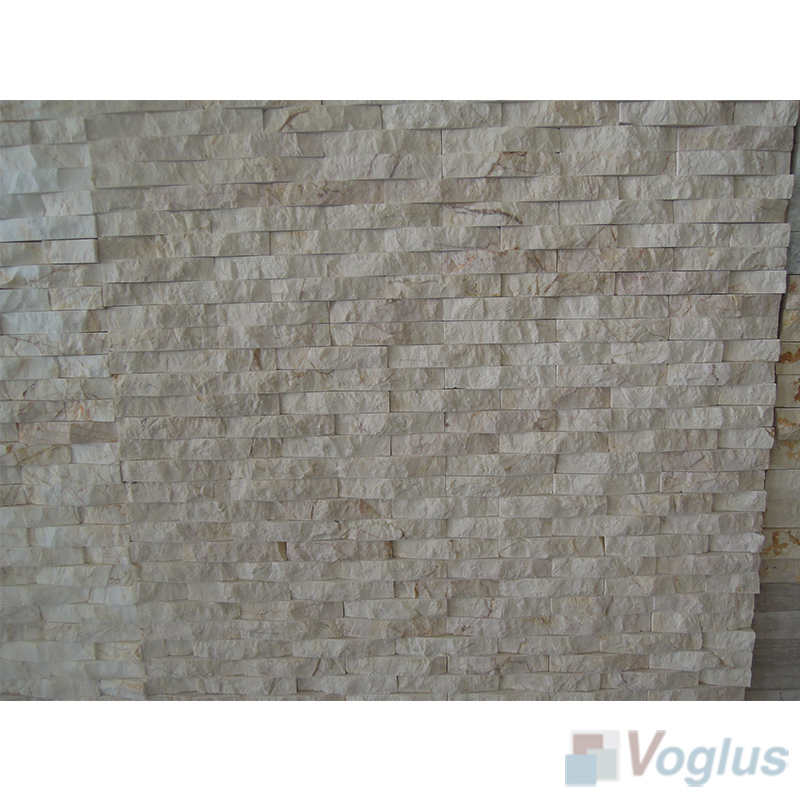 Natural Split Face Culture Stacked Stone Marble Mosaic VS-STT92