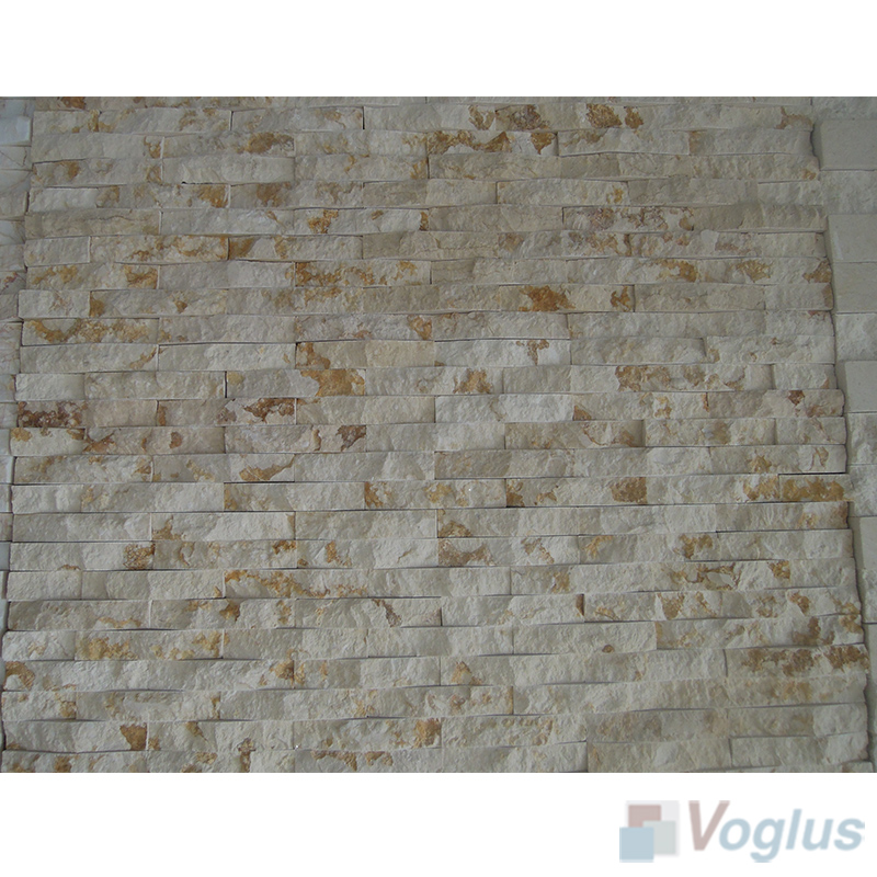 Natural Split Face Culture Stacked Stone Marble Mosaic VS-STT94