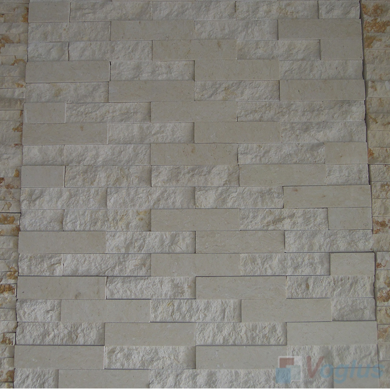 Natural Split Face Culture Stacked Stone Marble Mosaic VS-STT95