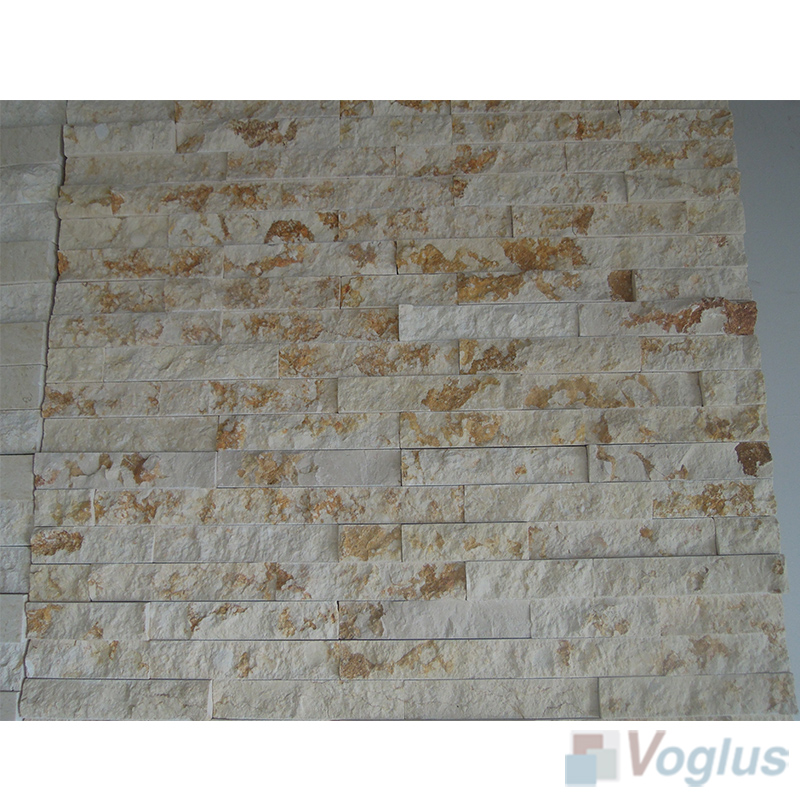Natural Split Face Culture Stacked Stone Marble Mosaic VS-STT96