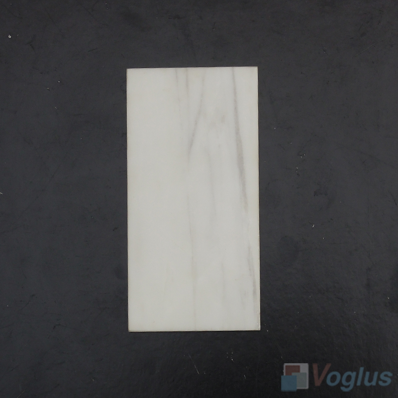 Star White 75x150mm 3x6 inch Thin Marble Tile