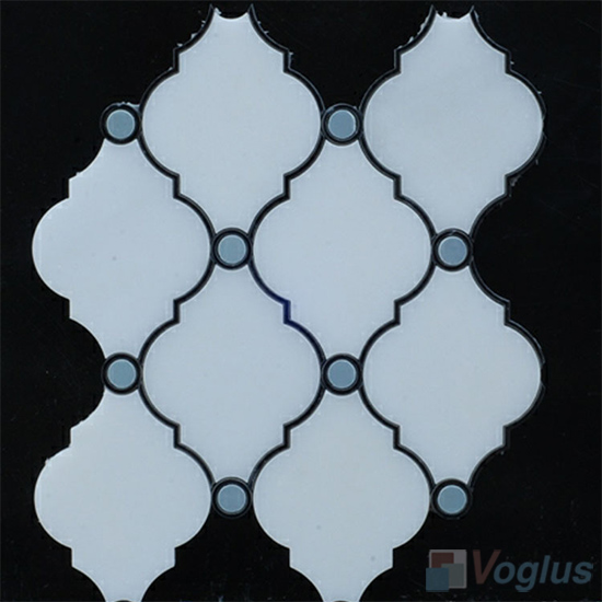 Water Jet Marble Mosaic Tile VS-WJ90