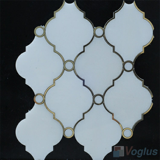 Water Jet Marble Mosaic Tile VS-WJ91