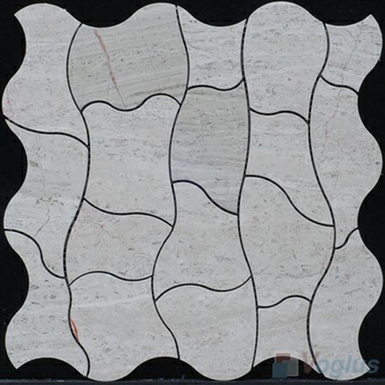 Water Jet Marble Mosaic Tile VS-WJ93