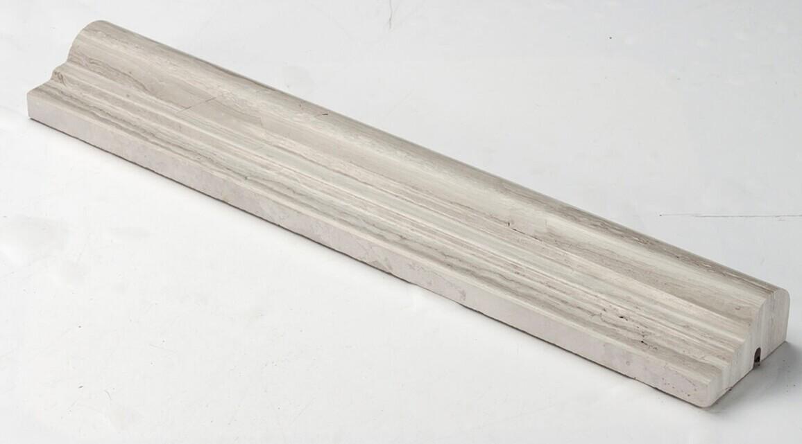 Wooden White Marble Mosaic Molding VS-AMD97