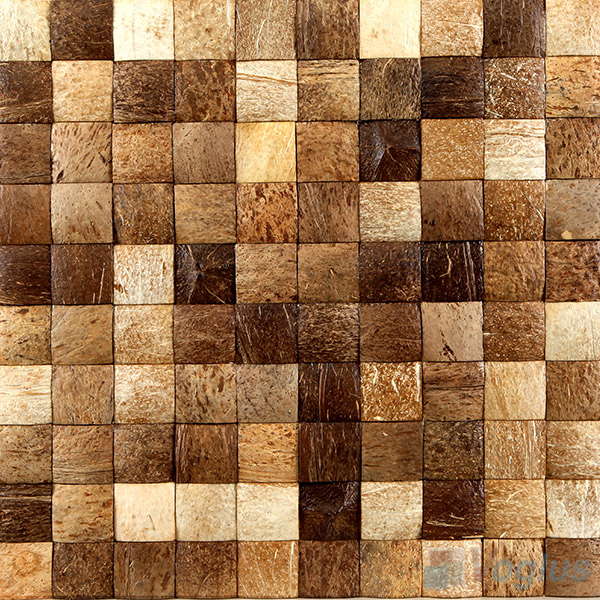 Coconut Mosaic Tiles VCC94