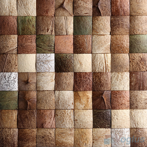 Coconut Mosaic Tiles VCC95